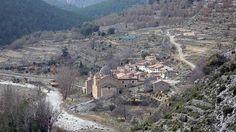 La Estrella está situada al este de la localidad de Mosqueruela #Teruel