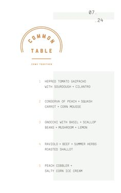 Minmal and fresh Menu design Lettering, Typography Logo, Typography Design, Font Design, Layout Design, Web Design, Restaurant Menu Design, Restaurant Branding, Typography Inspiration