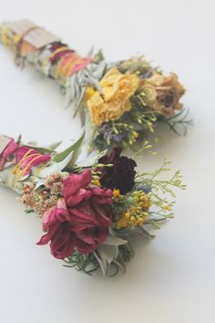 aquarian soul herbal floral smudge wand