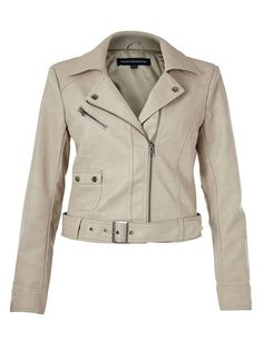 Fall Classics Biker Jacket, French Connection Athena Jacket; $148 @ frenchconnection.com