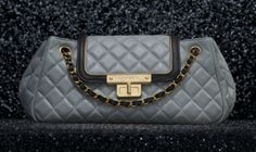 Chanel Accordion Bag with calfskin and modern Mademoiselle closure (Spring-Summer 2012 pre-collection)