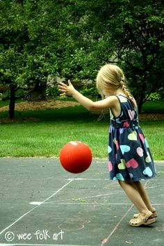 the rules of four square ... and other playground games.
