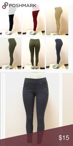 Kathy  Skinny Twill Legging Pants Product Overview Color: navy blue   Size: M/L Skinny pants are made of a super-stretchy material, making them a comfy choice for everyday wear. These sexy pants can be worn casual or for a night out. Rock your style in the most comfortable fashion, and feel great doing so.    Woven super-stretch skinny pants Five pockets Material: 60% cotton, 35% nylon, and 5% spandex Gentle Wash, Hang Dry Kathy Pants Skinny