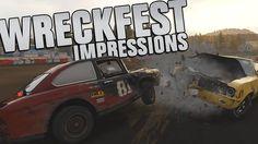 Next Car Game: WRECKFEST - Initial Honest Impressions [Multiplayer Gamep...