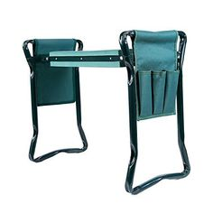 Ohuhu Garden Kneeler And Seat With 2 Bonus Tool Pouches Change Gardening Gloves