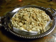 In my small church, we make our own unleavened Communion bread.   Homemade bread is not required,  it is something we like.  Try this easy recipe.