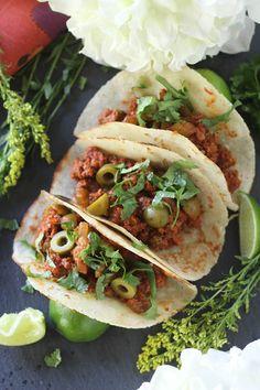 #paleo #paleomg Picadillo Tacos