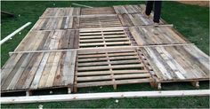 They Started With Wood Pallets, Barrels, And A Budget. What They Ended Up With Is Pure Awesome