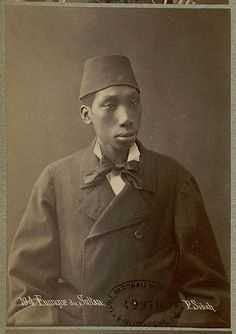 Black eunuch of the Ottoman Sultan. Photo by Pascal Sebah, 1870s. Caricatures of the castrati in performance show them looking ungainly and one can see here that ungainliness could indeed be one consequence of castration.