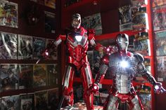 Masterless.: Hot Toy: Iron Man Silver Centurion/ Mark XXXIII