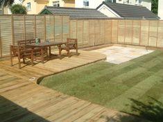 Decking Designs For Small Gardens waternomicsus