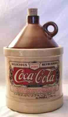 Coca Cola Jug Cookie Jar by Cenika