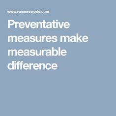 Preventative measures make measurable difference