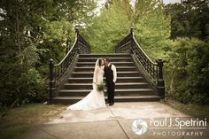 Jen and Kyle pose for a formal photo following their September 2016 wedding at the Roger Williams Park Botanical Center in Providence, Rhode Island. To see more photos from Jen and Kyle's wedding, please visit http://www.pauljspetrini.com/jen--kyle (Copyright 2016: Paul J. Spetrini Photography)