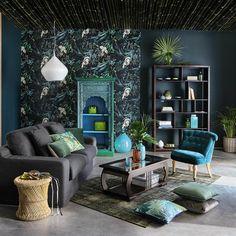 Cuscino in lino slavato verde scuro 60 x 60 cm