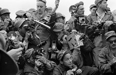To celebrate @magnumphotos 70th Anniversary get Aperture books by legendary Magnum photographers for 30% off including Werner Bischof: Backstory available at aperture.org/shop . Select prints available for 20% off. . Image: Werner Bischof International press photographers on the occasion of the arrival of General Ridgway in Kaesong Korea July 1952  Werner Bischof/Magnum Photos #MagnumPhotos70 via Aperture Foundation on Instagram - #photographer #photography #photo #instapic #instagram…