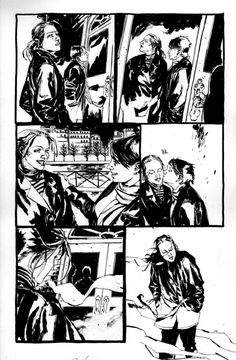 Queen & Country #14 Pg 23 by Jason Shawn Alexander Comic Art