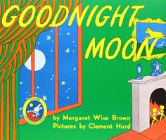 Goodnight Moon by Margaret Wise Brown http://www.amazon.com/dp/0064430170/ref=cm_sw_r_pi_dp_1kGLvb0R2JY35
