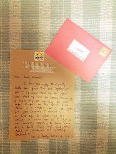 snail mail// pen + paper