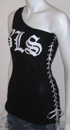 Black Label Society BLS Tshirt Corset Top DIY 8/10 Ooak by r3vamp, $39.99
