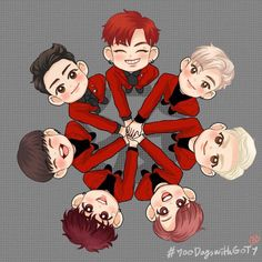 GOT7 Cute Chibi