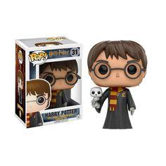 Harry Potter con Hedwig es un muñeco Funko Pop Vinyl de la colección de Harry Potter.