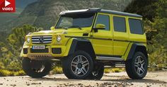 Mercedes-Benz Wants You To Go Exploring With The New G550 4X4² #commercials #Mercedes