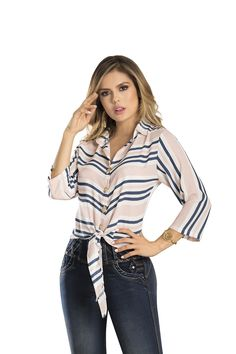BLUSA DAKOTA DEL CATALOGO DE ROPA TYT 40419 Color Rosa, Blouse, Long Sleeve, Sleeves, Women, Fashion, Blue Roses, Silhouettes, Colors