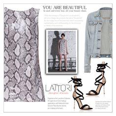 """LATTORI dress"" by water-polo ❤ liked on Polyvore featuring Lattori, rag & bone, Gianvito Rossi, polyvoreeditorial and lattori"