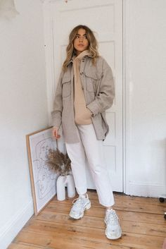 Hoodie Outfit Casual, Casual Outfits, Fashion Capsule, Neutral Outfit, Layering Outfits, Ootd, Winter Fashion Outfits, Pretty Outfits, Just In Case