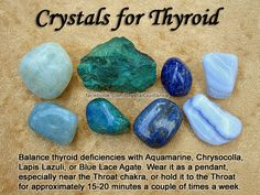 Crystal Guidance: Crystal Tips and Prescriptions - Thyroid