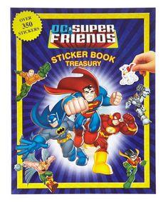 Look what I found on #zulily! DC Super Friends Sticker Book Paperback #zulilyfinds