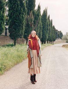 Malgosia Bela by Venetia Scott for W Magazine, August 2014