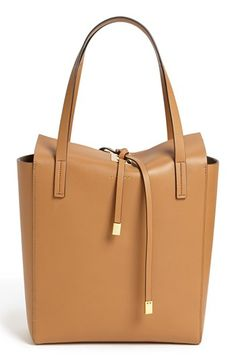 michael kors tan miranda leather tote 40% now during Nordstroms Half Yearly Sale!!