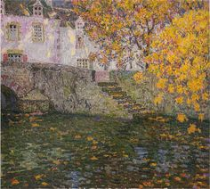 Sidaner, Henri le (French, 1862-1939) - Autumn - 1923