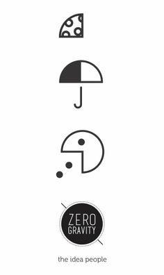 Zero Gravity: Branding Exploration 1 by Zero Gravity Communications, via Behance