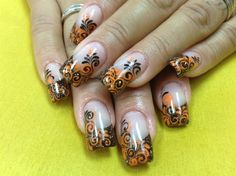 Fall All My Nails  by Pinky - Nail Art Gallery nailartgallery.nailsmag.com by Nails Magazine www.nailsmag.com #nailart