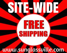 No matter whether you shop for one or 1000, we treat every order of yours special by extending the #freeshipping offer to every order 💥 #sunglassville #customsunglass #ordernow