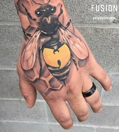 "10.7k Likes, 84 Comments - fusion_ink™ (@fusion_ink) on Instagram: ""Rad Wu Tang piece by @Chasetafoya using #FUSIONINK #fusionfamily #fusiontattooink #tattoos #tattoo…"""