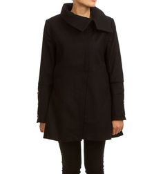 NICOLE JACKET BLACK via Jascha online store. Click on the image to see more!