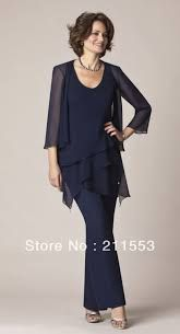 2014 Gorgeous And Fashion New Chiffon Plus Size Mother Of The Bride Paint Suits Beach Wedding Dress With Jacket _ - AliExpress Mobile Mother Of The Bride Trousers, Mother Of The Bride Plus Size, Mother Of The Bride Suits, Mother Of Bride Outfits, Mother Of Groom Dresses, Mothers Dresses, Mother Bride, Mob Dresses, Plus Size Dresses