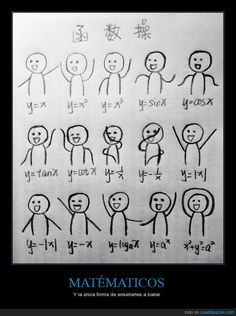 Cómo enseñar a bailar a un matemático - Y la única forma de enseñarles a bailar