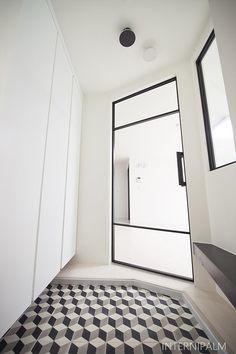 북유럽인테리어의 중심, 키엔호 Modern Entrance, Entrance Design, Flooring, Glass Doors, Interior Design, Architecture, Facade, Gate, Bathrooms