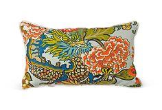 Chiang Mai Dragon Pillow