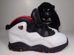 White//True////Black 310808-102 5 Jordan Toddler Retro 10 Td