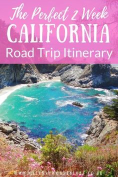 california travel My Perfect Two Week California Road Trip Itinerary - San Diego, LA and the Pacific Coast Highway Pacific Coast Highway, Highway Road, Road Trip Usa, West Coast Road Trip, Usa Roadtrip, San Diego, San Francisco, Las Vegas, California Vacation