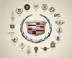 As logos da Cadillac                                                       …