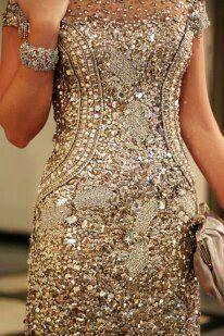 Stunning Golden Dress