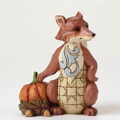 JIM SHORE Heartwood Creek Thanksgiving Figurine 4047833 MINI HARVEST FOX