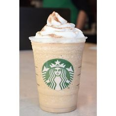 Starbucks Offers Six New Frappuccino Flavors ❤ liked on Polyvore featuring starbucks, food, food & drink, other und random